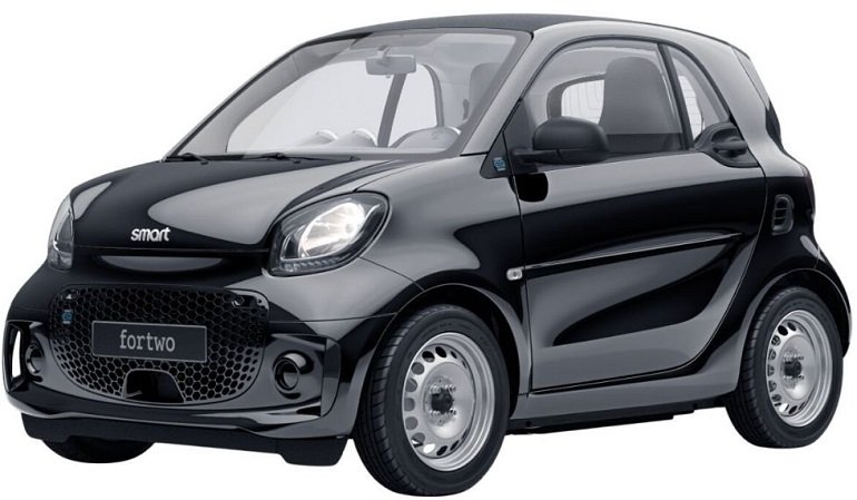 Smart ForTwo EQ Elektro-Fahrzeug mit 82 PS für 19,69€ mtl. brutto im Privatleasing – LF: 0.09