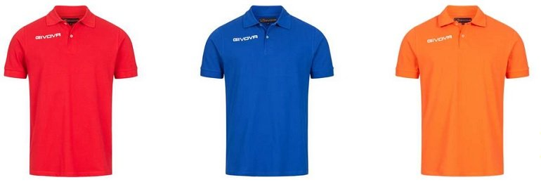 Givova Summer Herren Polo-Shirts