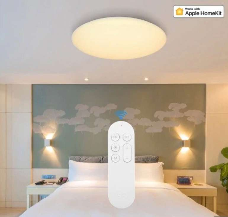 Yeelight YLXD42YL 480mm Smart LED Ceiling Light (Xiaomi Ecosystem Product) LED Lampe für 77,03€