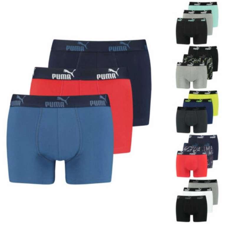 6er-Pack Puma Catbrand Promo Herren-Boxershorts für 36,99€ inkl. Versand