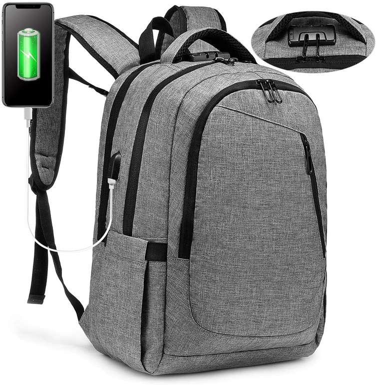 Lovevook Laptop Rucksack (Anti-Diebstahl, 15.6 Zoll, USB Ladeanschluss) für 17,99 inkl. Prime-Versand (statt 30€)