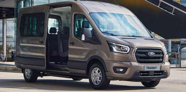 Gewerbe: Ford Transit 350 L2H3 9-Sitzer mit Wartung + Verschleiß für 83,19€ Netto mtl.