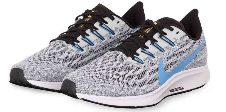 Nike Laufschuhe Air Zoom Pegasus 36 in grau-weiß für 64,99€inkl. Versand (statt 79€)