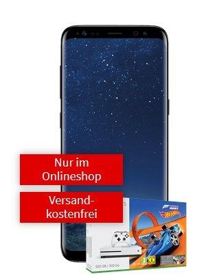 VF 1GB Allnet Flat + Galaxy S8 & Xbox One S + Forza 3 + Hot Weels für 26,99€