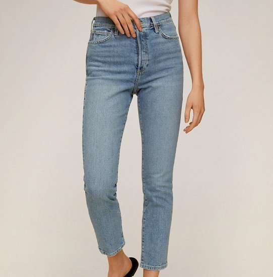 Mango Sale mit bis zu 50% Rabatt + VSKfrei ab 30€ - z.B. High Waist Slim-Jeans für 19,99€ (statt 30€)