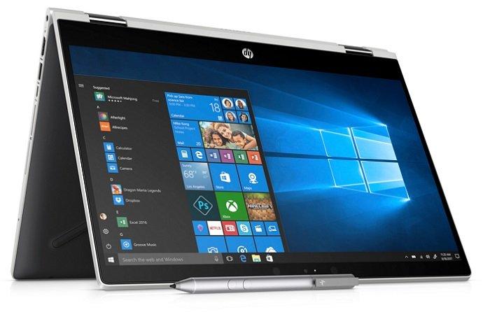 HP 14-cd0103ng – 14 Zoll 2-in-1 Notebook mit i3, 256GB SSD + Windows 10 für 533€