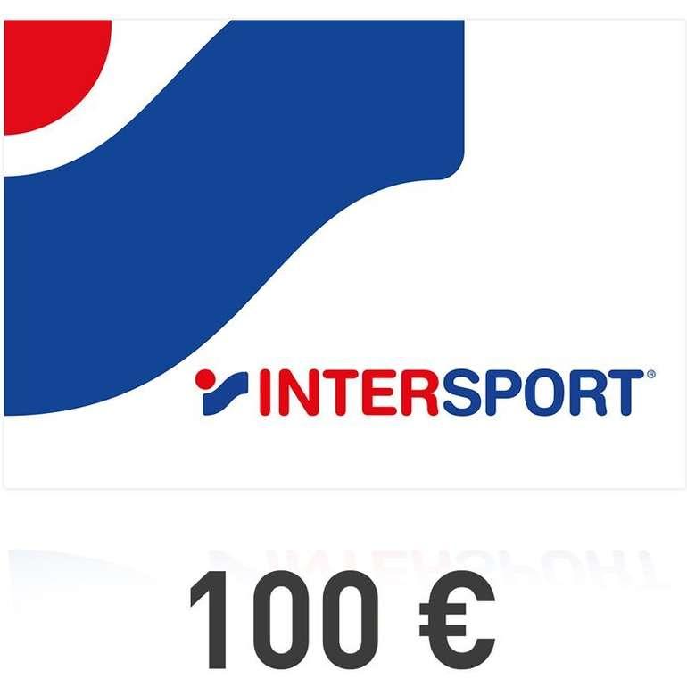 100€ Intersport Gutscheinkarte (Digital) für 85€ zum Ausdrucken!