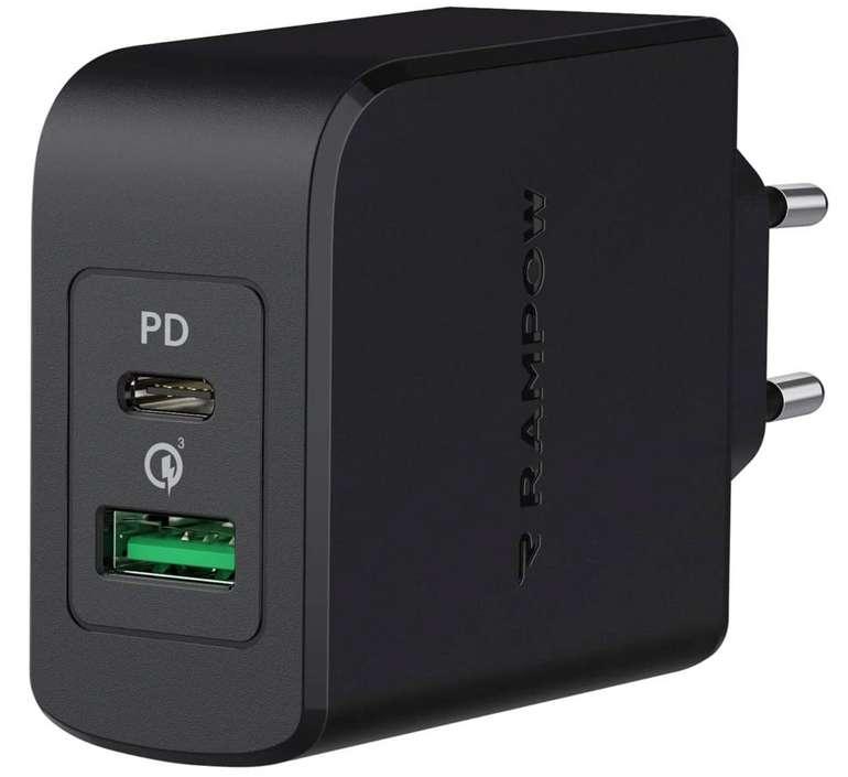 Rampow USB C Ladegerät mit 36 Watt für 9,49€ inkl. Versand (statt 19€)