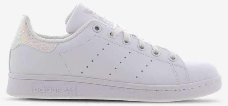 """Adidas Originals Stan Smith Iridescent GS Sneaker im """"White""""-Colourway für 29,99€ (statt 45€)"""