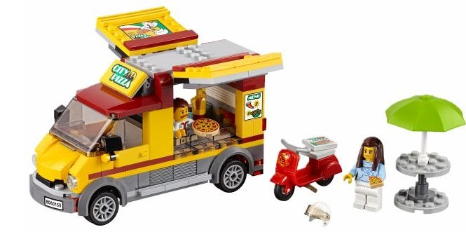 Lego City 60150 Pizzawagen für 11,30€ inklusive Versand