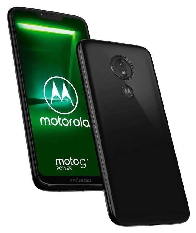 Motorola Moto G7 Power Smartphone 64 GB für 133€ (statt 158€)