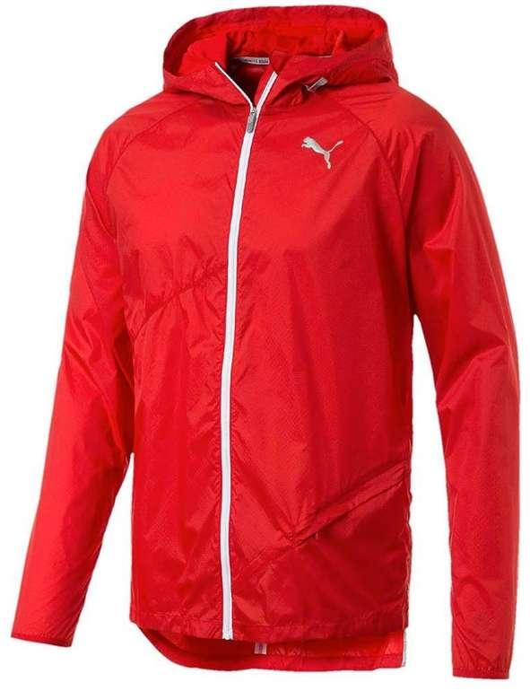 Puma Herren Windjacke in rot/ weiß für 24,25€ inkl. Versand (statt 40€)