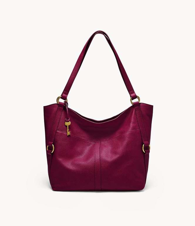 "Fossil Shopper ""Sam"" Damen Tasche in ""Himbeere"" für 64,86€inkl. Versand (statt 109€) - Newsletter!"