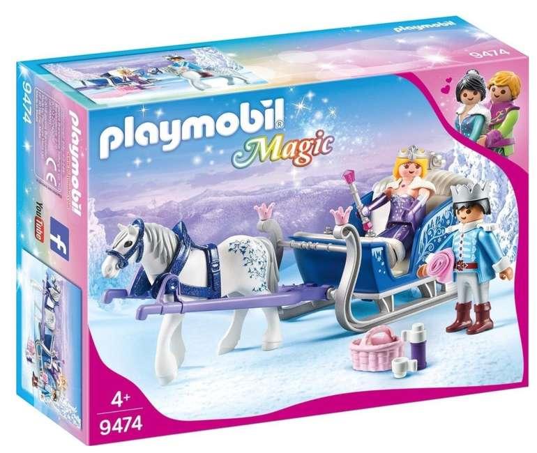 Playmobil Magic - Schlitten mit Königspaar (9474) für 9,99€ inkl. Prime Versand (statt 15€)