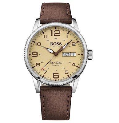 Boss Watches Herrenuhr Pilot 1513332 für 116,15€ inkl. Versand (statt 156€)