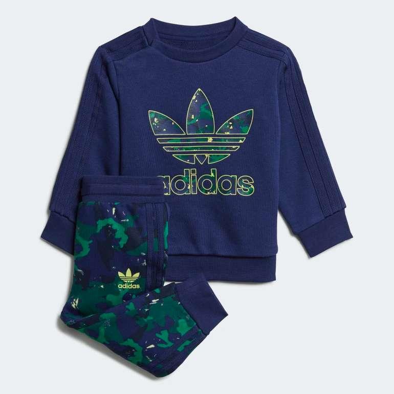 Adidas Originals Baby Trainingsanzug Camo Print Set für 28€ inkl. Versand (statt 40€)
