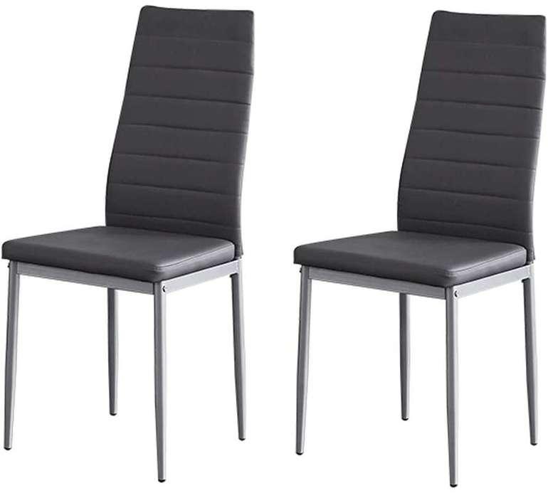 Salbay Esszimmerstühle im Set 2/4/6 mit Rückenlehne z.B. 2er Set für 25,79€ inkl. Prime Versand (statt 43€)