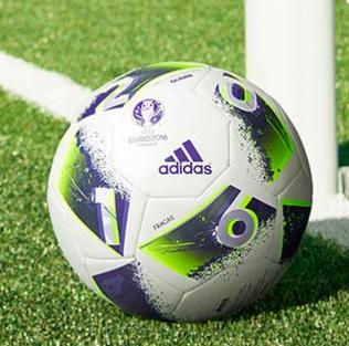 Adidas Performance EURO Glider Fußball für 3,97€ zzgl. max. 5,97€ Versand