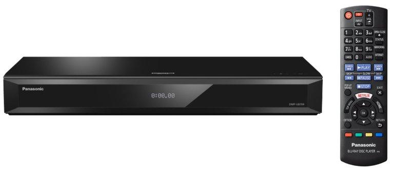 76€ günstiger - PANASONIC DMP-UB704 Ultra HD Blu-ray für 199€ inkl. Versand
