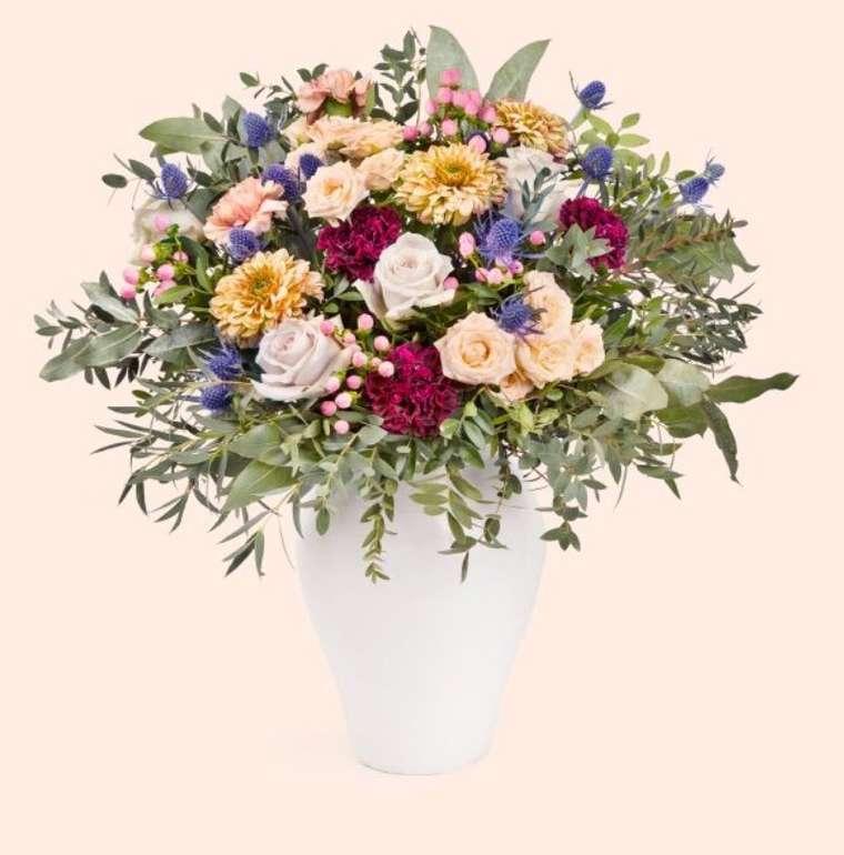 Colvin: 25% Rabatt auf Blumensträuße zum Muttertag + VSKfrei - z.B. Mother of Petals für 41,25€ (statt 55€)