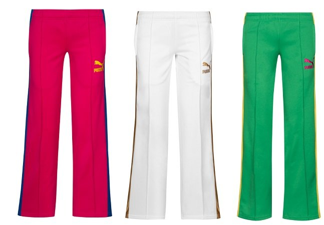 PUMA Heroes T7 Damen Track Pants Slim Fit Trainingshose (L & XL) für 5,55€ +VSK
