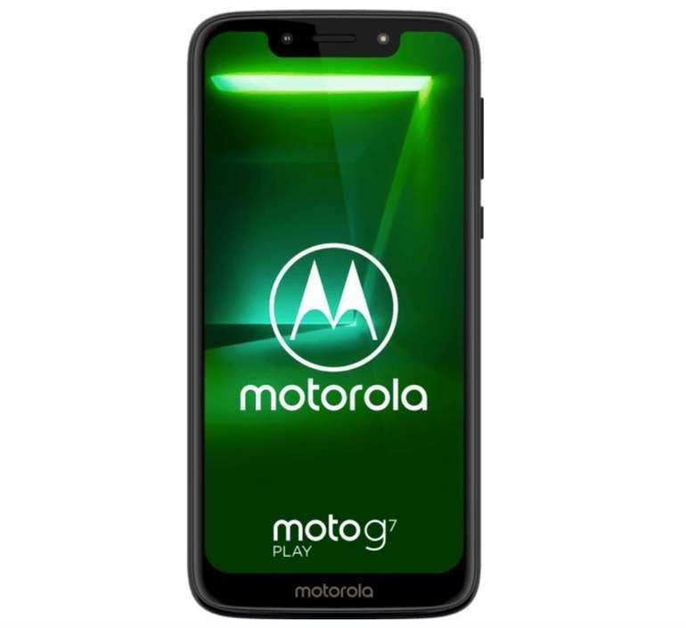 Motorola Moto G7 Play Dual-SIM Smartphone mit 32GB Speicher für 89,10€ (statt 130€)