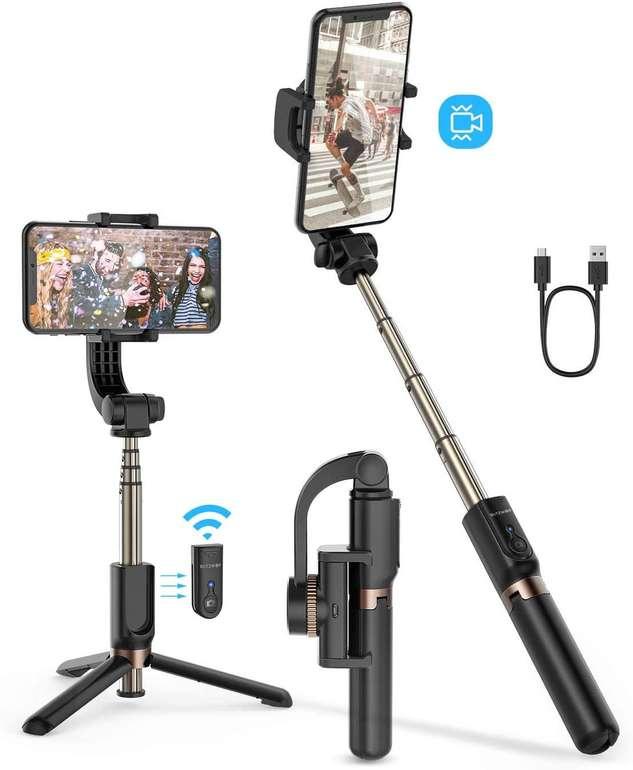BlitzWolf BW-BS12 Bluetooth Selfie Stick mit Stabilisator für 27,29€ inkl. Versand (statt 39€)