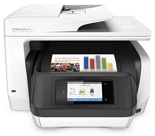 HP Officejet Pro 8720 Multidrucker für 137,50€ inkl. Versand + 50€ Cashback