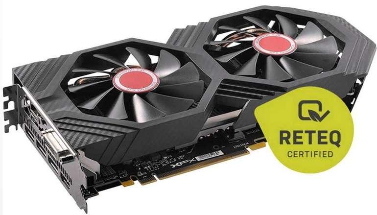 XFX Grafikkarte: AMD Radeon RX 580 8 GB GDDR5-RAM PCIe für 134,99€ (statt 164€) - refurbished