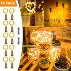 Hengda 10er Pack Flaschenlichter mit 20 LEDs für 7,69€ (Prime)