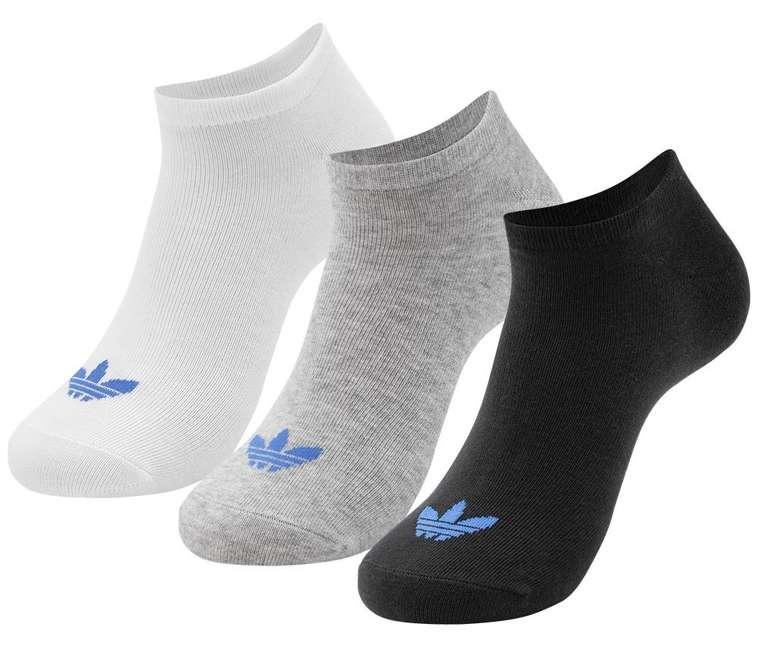 Adidas Originals Trefoil Liner 3 Paar Sneakersocken für 9,94€ inkl. Versand (statt 24€)