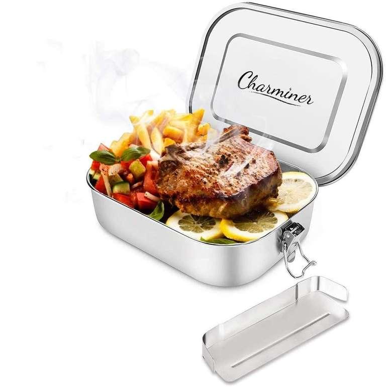 Charminer Edelstahl Brotdose (1400ml) für 13,29€ inkl. Prime Versand (statt 19€)