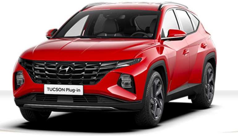 Gewerbeleasing: Hyundai Tucson Plug in Hybrid mit 265 PS für 123,79€ netto mtl. (BAFA, LF: 0,35, Überführung: 870€)