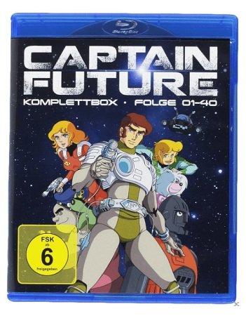 Captain Future - Komplettbox auf Blu-ray für 50,99€ (statt 64€)