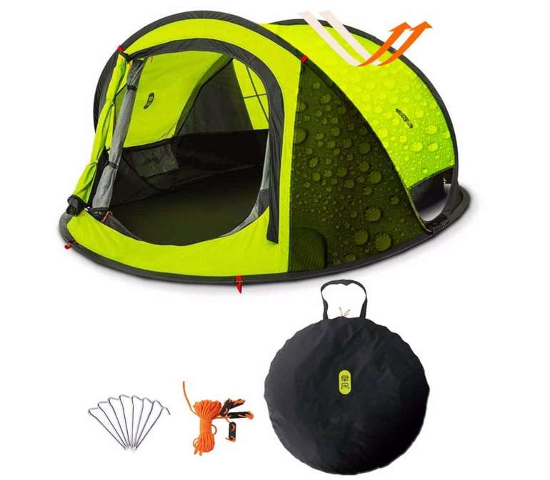 Zenph Pop Up Zelt für 2-3 Personen + Tragetasche für 52,99€ (statt 80€)