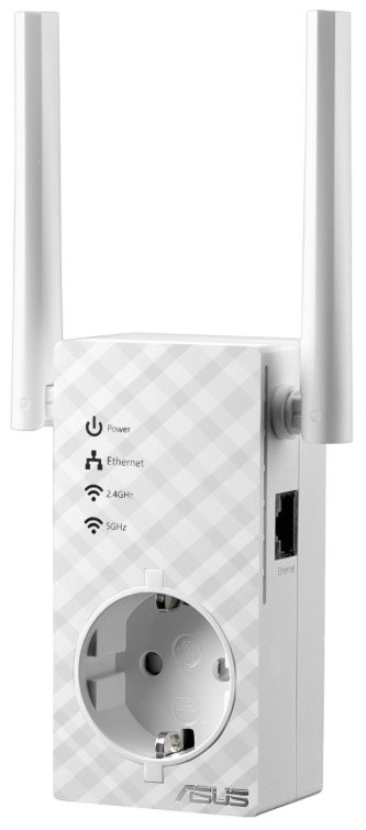 Asus RP-AC53 AC750 Dualband WLAN-Repeater mit Frontsteckdose für 44,90€