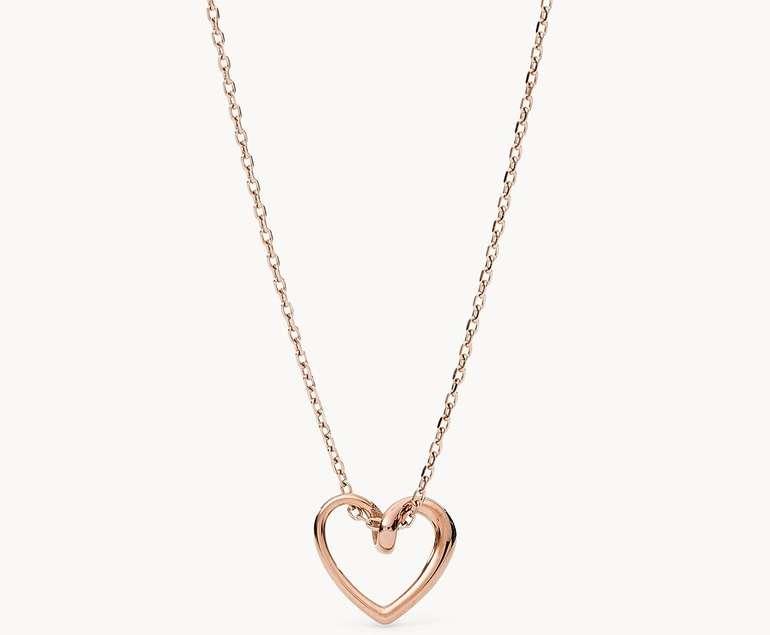 Fossil Damen Halskette Pendant (JOF00620791) für 24,80€ inkl. Versand (statt 45€)