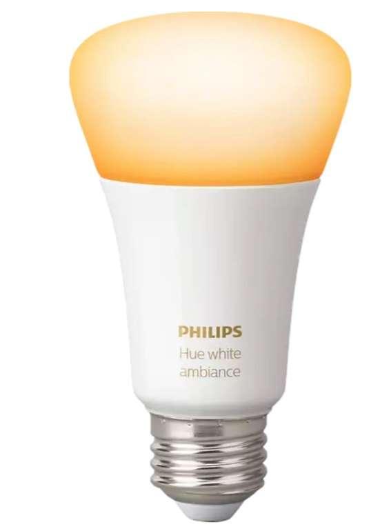 Philips Hue White Ambiance E27 Bluetooth LED Lampe für 19,89€ inkl. Versand (statt 24€)