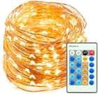 TaoTronics - 20m Outdoor Lichterkette mit 200 gelben LED's für 9,99€ inkl. Prime Versand (statt 20€)
