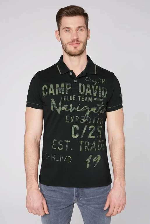 Camp David Poloshirt mit Photoprint Artwork in zwei Farben für je 32,95€ inkl. Versand (statt 60€)