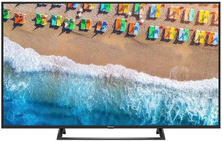 Hisense H65BE7200 – 65 Zoll UHD Smart-TV mit HDR10 und Dolby Audio für 479€ (statt 569€)
