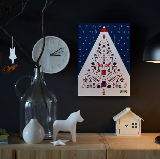 IKEA Adventskalender inklusive 10€ Aktionskarten für 12,95€