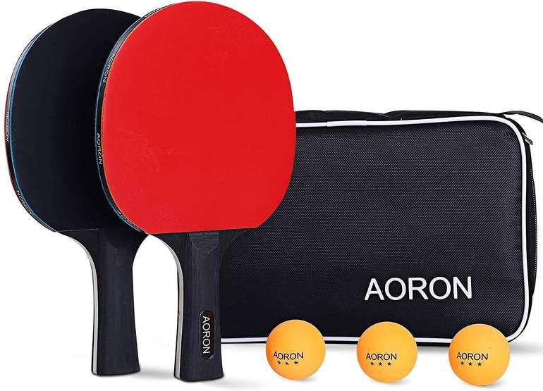 Aoron Tischtennis Set mit Tasche für 12,39€ inkl. Prime Versand (statt 21€)