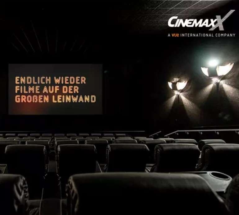 """5 CinemaxX-Kinogutscheine für 25€ oder 2 Gutscheine für 12€ (nur """"2D-Filme"""", 31 teilnehmende Filialen)"""