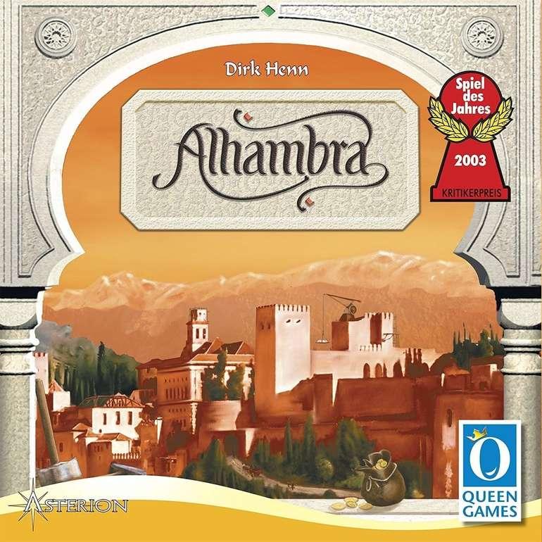 """Queen Games Gesellschaftsspiel """"Alhambra - Spiel des Jahres 2003"""" für 14,99€ (statt 30€) - Galeria Filialabholung"""