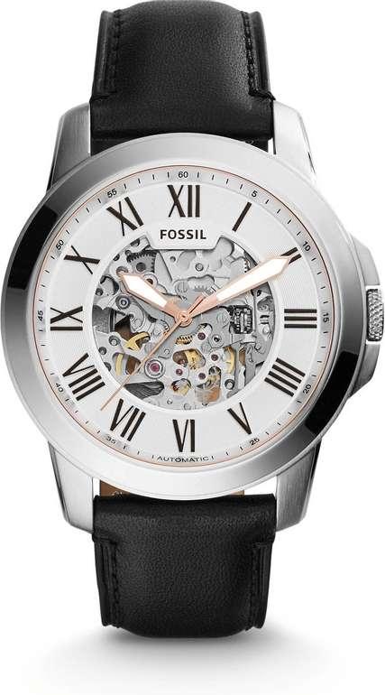 Fossil ME3101 Grant Automatik Herrenuhr mit Lederarmband für 79,20€ inkl. Versand (statt 128€)