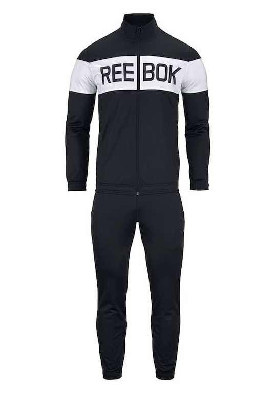 "Reebok Trainingsanzug ""Supply Cuffed Tracksuit"" in schwarz für 33,99€ (statt 65€)"