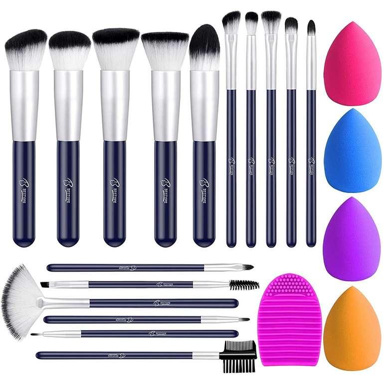 2 Beauty Artikel bei Amazon reduziert, z.B. Bestope 16-teiliges Pinsel-Set für 4,49€ inkl. Prime Versand