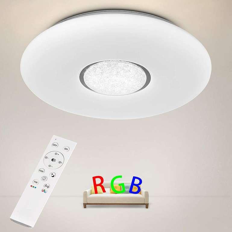 Anten 36W LED Deckenleuchte (RGB, dimmbar) für 23,49€ inkl. Versand (statt 34€)