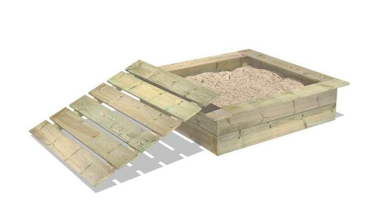 Holzsandkasten mit Deckel King Kong für 69,95€ inkl. Versand (statt 80€)
